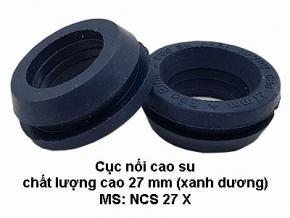 Cục cao su chất lượng cao 27mm (màu xanh dương)