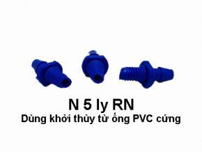 Bịch 100 cái Nối 5ly RN 5ly POM (màu xanh dương)