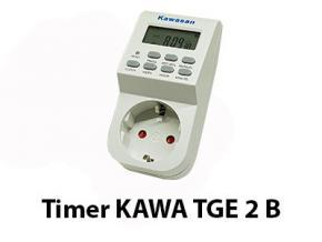 TBĐ - Timer Kawa TGE2B - Công tắc hẹn giờ