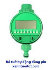 Bộ tưới tự động dùng pin