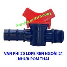 Van phi 20 ống LDPE RN21