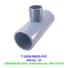 T GIẢM PVC PHI 42 - 27