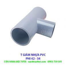 T GIẢM PVC PHI 42 - 34