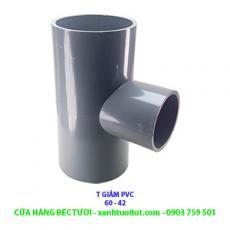 T GIẢM PVC PHI 60 - 42