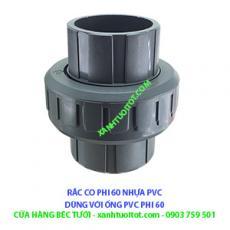 RẮC CO PHI 60 NHỰA PVC