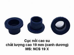 Cục cao su chất lượng cao 19mm (màu xanh dương)