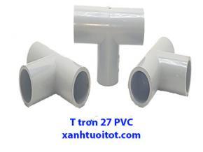 T trơn 27 ly PVC