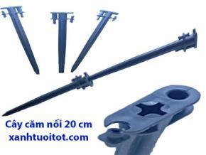 C 20 cm - 5 ly  Cây cắm nối 20 cm dùng với ống 5 ly