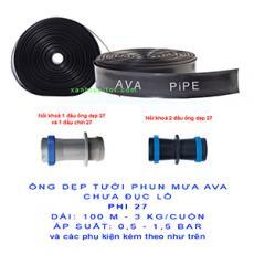 Cuộn Ống dẹp chưa đục lỗ AVA phi 27 (dài 100 m = bình quân 3 kg)