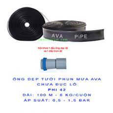 Cuộn Ống dẹp chưa đục lỗ AVA phi 42 (dài 100 m = bình quân 6 kg)