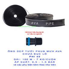 Cuộn Ống dẹp chưa đục lỗ AVA phi 49 (dài 100 m = bình quân 7 kg)