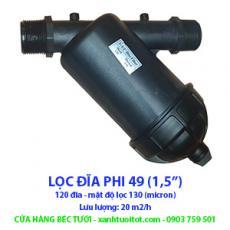 LỌC ĐĨA PHI 49 - 20 M2/H