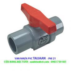 Van nước PVC phi 21 - Taijaan