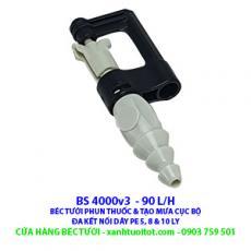 Béc tưới phun thuốc và phun mưa cục bộ BS 4000 V3 90 lít / h - Đa kết nối với dây PE 5 ly, 8ly và 10 ly