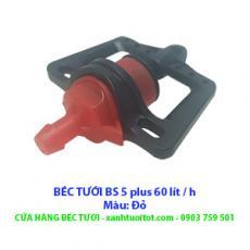 BÉC TƯỚI CÂY BS 5 PLUS 60 LÍT / H (màu đỏ)
